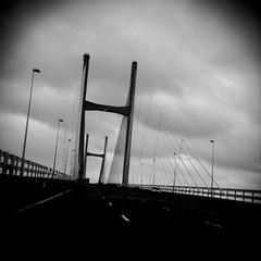 7 bridge (Claire_Sambrook) Tags: travel bridge apple wales camerabag iphone severnbridge iphoneography