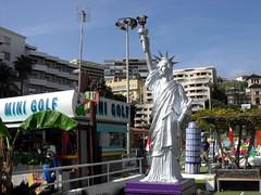 lady liberty of the mini-golf (dmixo6) Tags: holiday spain playa andalucia dugg dmixo6