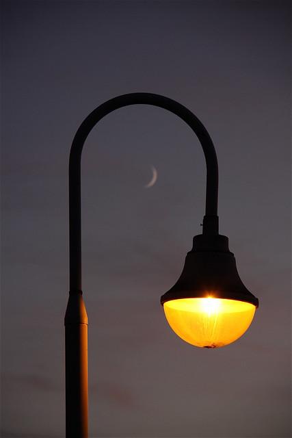 Sunset Lamppost