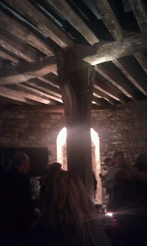 Kilkenny castle, fantastic conference venue. That's a 13th century beam in a round tower #ciakk