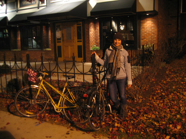 Birthday bike ride, Nov. 2010