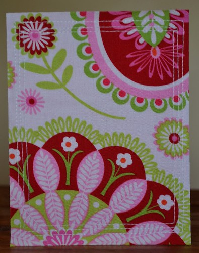 Fabric Greeting Card