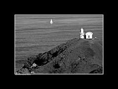 11. Autumn Sail Past Tacking Point Light (InPort05) Tags: ocean lighthouse white seascape black landscape sailing yacht australia maritime sail portmacquarie headland waterscape tackingpoint dennisgayaustraliaportmacquarieseascapewaterscapecoastapartmentproject autumnsailpasttackingpoint