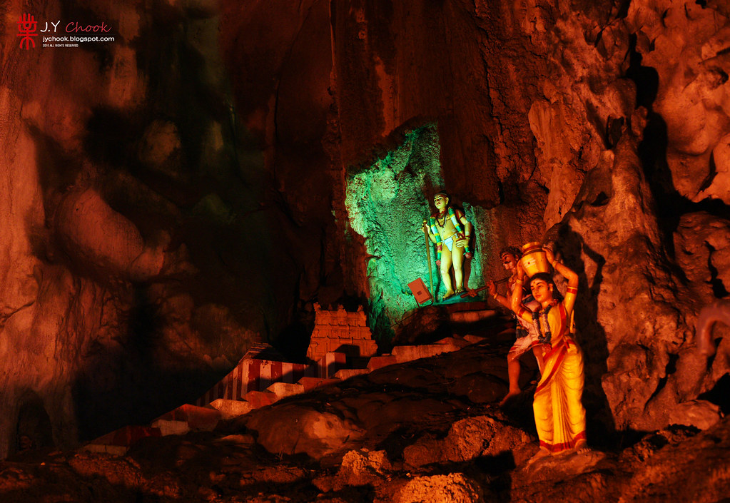 The God Statues at The Batu Caves