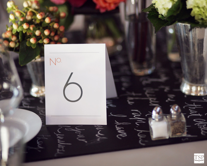 Dolce Designs Table Numbers