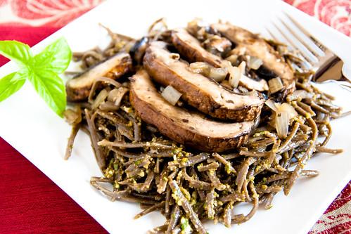 Olio Fresca's Wild Mushroom Linguine
