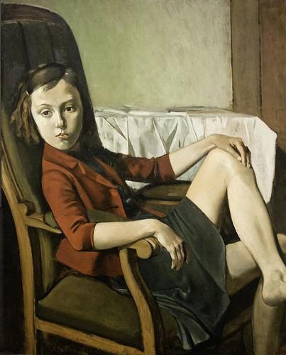 Balthus: Thérèse by unbearable lightness