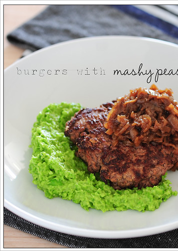 burgers with mashy peas6