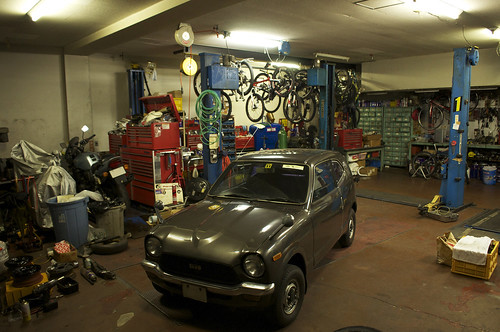 Garage by keganimushi