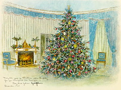 161. Lyndon B. Johnson White House Christmas Card