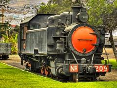 """Antofagasta Chile - """"Locomotora 209"""" (Victorddt) Tags: chile tren locomotive sonycybershot locomotora antofagasta fcab dsch55"""