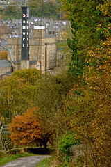 Autumn in Bingley 2 by Tim Green aka atoach