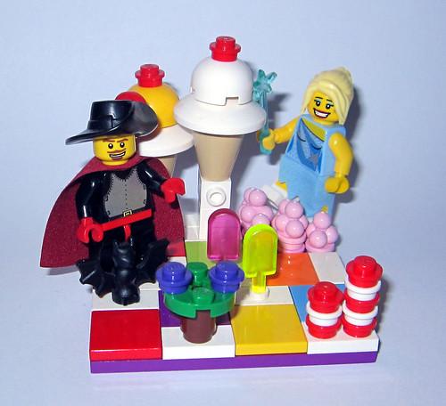 game lego board vignette candyland