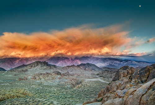 Alabama Hills Sunset by Harold Davis
