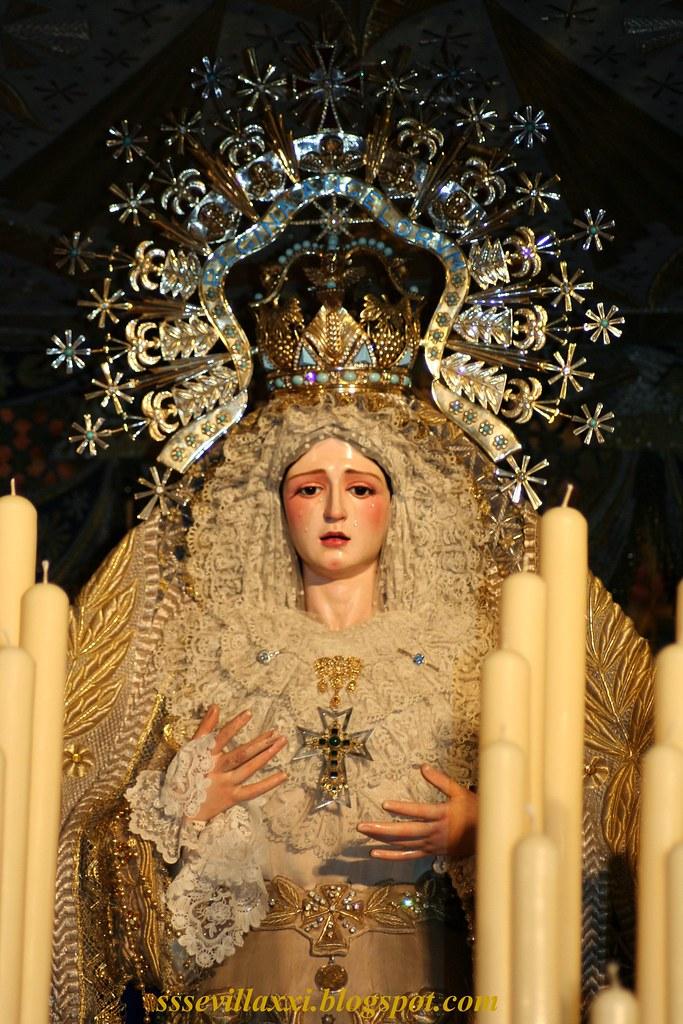 Nuestra Señora de los Angeles, Hermandad de los Negritos, Semana Santa 2011