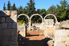 Anjar, Umayyad city, al-Walid I, 705-15, little palace (2) (Prof. Mortel) Tags: lebanon umayyad anjar