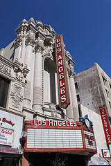 Los Angeles Theater (skipmoore) Tags: sign marquee losangeles theater angeles south broadwaylos