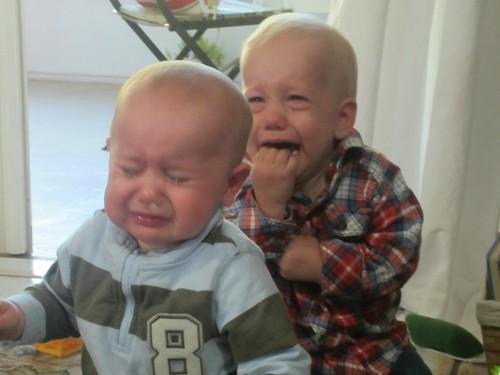 crying boys