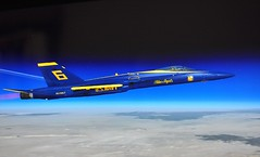 An Angel Reaches for the Stars..... (merriewells) Tags: navy blueangels fa18hornet microsoftflightsimulator10