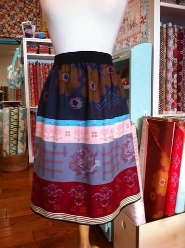 loulouthi needleworks skirt