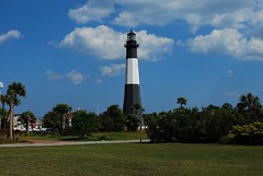 Tybee Lighthouse (Madmelodist  Productions) Tags: ocean bridge trees sea sky usa sun lighthouse lake seascape tree bird beach birds clouds sunrise ga georgia landscape boats outdoors island landscapes nc pond lighthouses ship seascapes wildlife gull ships country north barns lakes bridges sunsets maritime tybee tybeeisland land carolina fields cape farms ponds viewfromthetop countrside tybeeislandga tybeeislandgeorgia hateras
