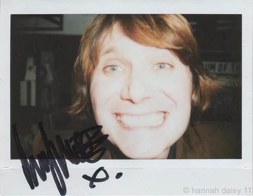 Nicky Wire self portrait