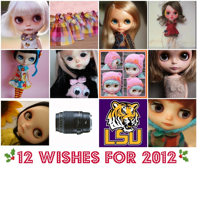 Twelve for 2012 !!! (some have been granted already!!)