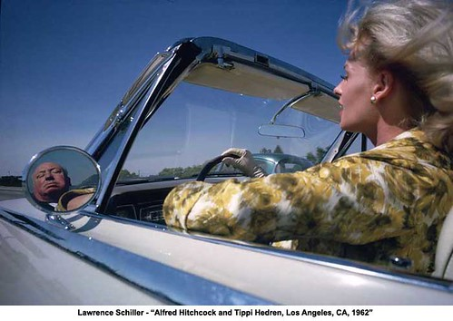 Lawrence Schiller - 'Alfred Hitchcock and Tippi Hedren, Los Angeles, CA, 1962' by artimageslibrary
