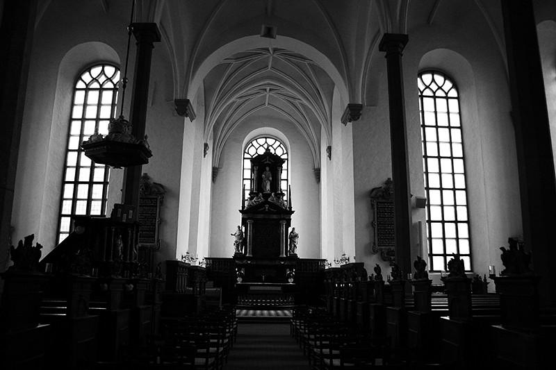 levde ut att vara turist och passade på att besöka kyrkan också