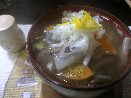 もつ煮@味菜(練馬)