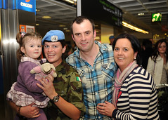 104 Battalion reunited with family and friends