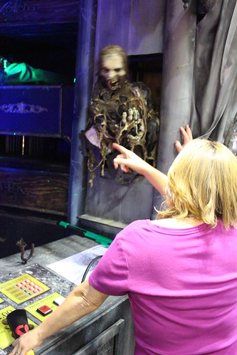 Scare Factory zombie shooting gallery