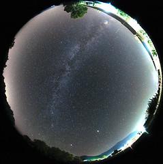 november milky way full sky (explore 19 Nov 2011 ) (dtsortanidis) Tags: november sky fall canon way mark 360 full fisheye explore ii 5d mm milky ef circular 815 dimitris dimitrios tsortanidis