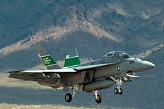 "boeing f/a-18f super hornet (Matt ""Linus"" Ottosen) Tags: test nikon air navy fair scottsdale boeing usnavy vampires squadron evaluation fa18 superhornet fa18f scottsdaleairport d90 vx9 166791 airtestandevaluationsquadron scottsdaleairfair"