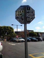stop sign. some spot. somewhere (the sticker flicker) Tags: streetart soup graffiti losangeles turtle stickers vinyl tags muse mq abc trade combo visio bnb slaps pab serch tph fishe postals toer 28m adhesives rkf asend riler shoplikekings 226cult