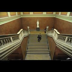 London in my eyes [87] - it's dangerous to lean out (guido ranieri da re: work wins, always off) Tags: london scale stairs nikon stair scala londra indianajones thebritishmuseum scalinata d700 nonsonoglianniamoresonoichilometri guidoranieridare londoninmyeyes 100shotsforlondon londraneimieiocchi 100scattiperlondra