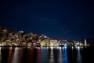 Symi at Midnight