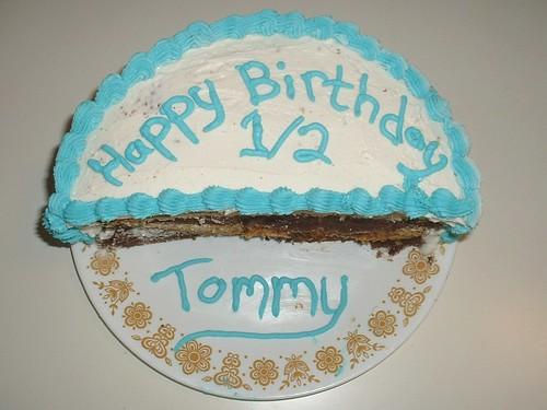half birthday cake 06-24-11