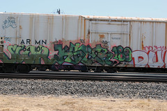 06_24_2011 294 (CONSTRUCTIVE DESTRUCTION) Tags: film train movie graffiti dvd video streak destruction tag graf boxcar graff piece 189 constructive moniker kser scor
