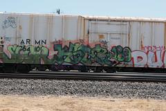 06_24_2011 294 (CONSTRUCTIVE DESTRUCTION) Tags: film train movie graffiti dvd video streak destruction tag graf boxcar graff piece 189 constructive moniker kser scor