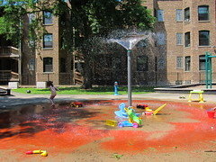 splash park across from medici's