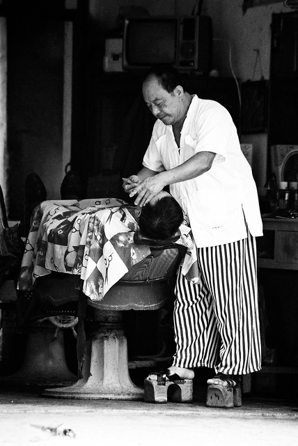Yangshuo barber