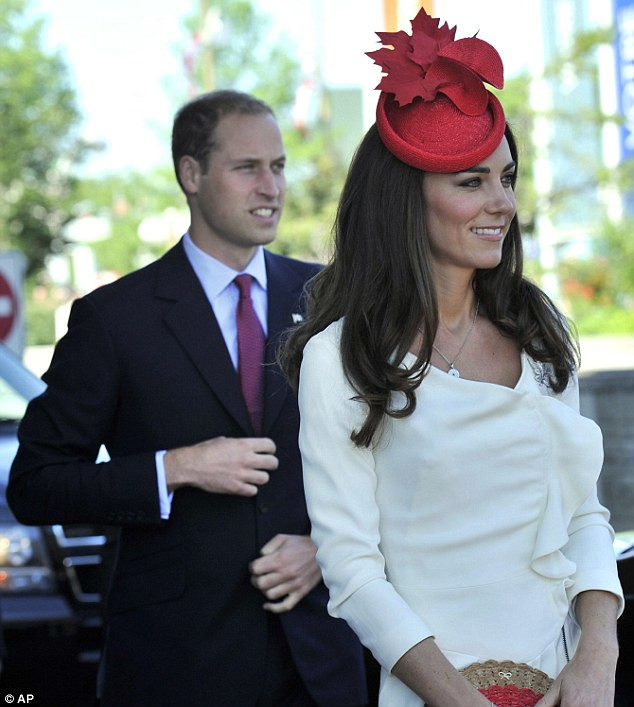 Happy Canada Day! Duchess of Cambridge  2