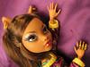 Scratch Scratch (Mariko&Susie) Tags: monster werewolf sisters out high wolf knuckle frankenstein susie mariko schools brass mattel knucks clawdeen marikosusie