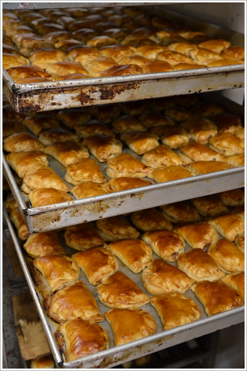 Trays of Freshly Baked Kaya Puffs