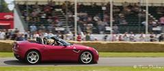 Alfa Romeo 8C Spider - Goodwood Festival of Speed (Tom Dauben) Tags: car sport festival tom race speed climb spider moving automobile hill olympus racing alfa alfaromeo goodwood motorshow hillclimb motorsport f35 8c e500 2011 1442 45150 borderfx dauben