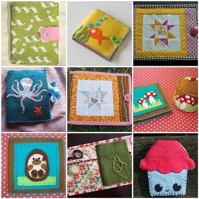 Sewn Spaces Needlebook Swap Inspiration Mosaic