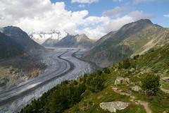 Cold highway (Johan_Leiden) Tags: world heritage schweiz switzerland suisse unesco glacier valais aletsch aletschgletscher bettmeralp fiesch fiescheralp visionquality100 visionquality