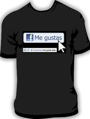 playera facebook megustas