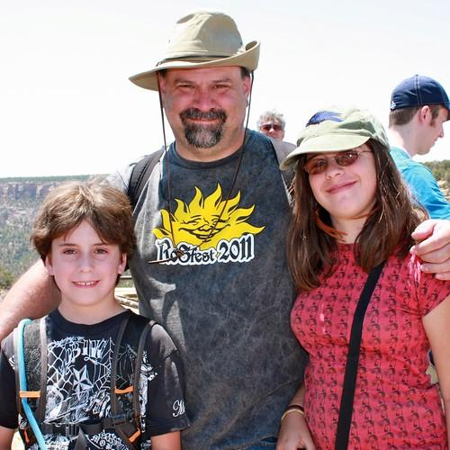 The Millers at Mesa Verde!